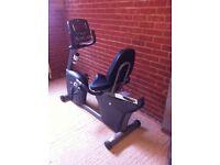 Horizon R4000 Premier Recumbent Exercise Bike- Very Good Condition hardly used