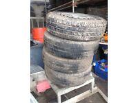 Vauxhall vivaro wheels and tyres
