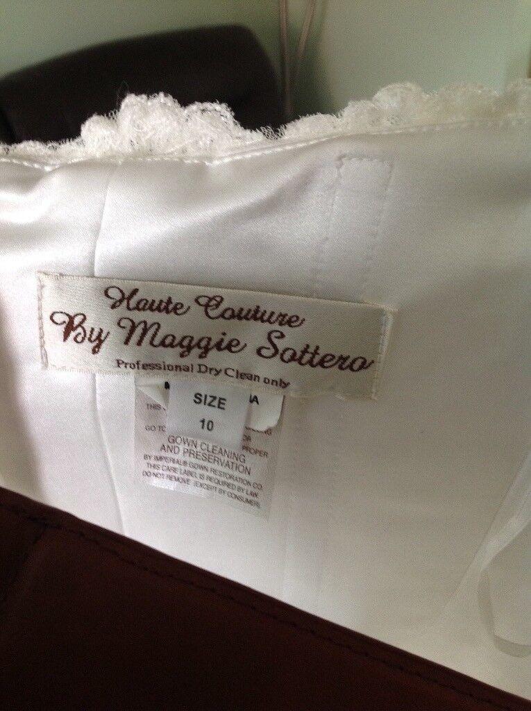 Maggie Sottero Wedding Dress size 10-14