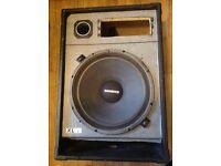 """PAIR EMINECE XL SPEAKERS DJ 15""""BASS DRIVERS"""