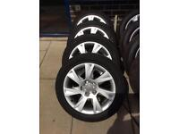 Audi A5 alloy wheels and tyres