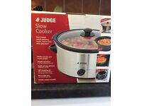 Judge Slow Cooker 1.5L *Never Used*