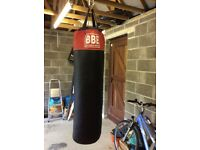 Punch Bag BBE Including Chain and Bracket