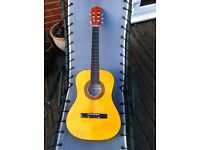 Herald traditional acoustic guitar, excellent condition - would suit a beginner
