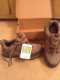 50 Peaks Hi-Tec Walking Waterproof boots, size 6, Duplicate present, Boxed, New