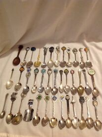 Big collection of spoons