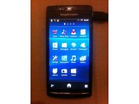 Sony Ericsson Xperia Arc LT15i mobile phone with HD lead, charger and 1gb micro sd card