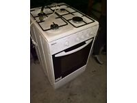 white gas cooker 50cm....Cheap free delivery