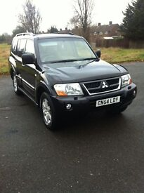 Mitsubishi Shogun 3.2 Did gls only 80,000 miles, automatic, 7 seater