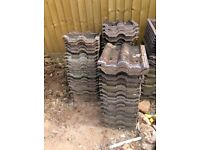 Used REDLAND roofing tiles