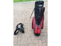 Golf carry bag never used stored in garage