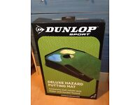 Golf Deluxe Hazard Putting Mat, Brand New Boxed