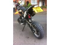 Road legal stomp yx 140 cc reg as 125