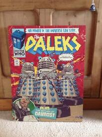 Dalek Doctor Who canvas print