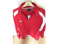 Brand New T4F Umbro Woven Tracksuit Size L - Rare Edition