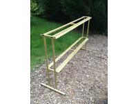 Gold Dumbbell Rack (Delivery Available)