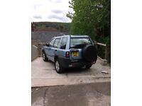 2003 Landrover Freelander TD4
