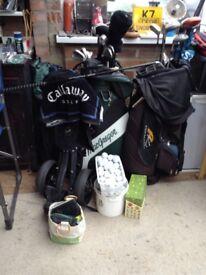 Wilson Fat shaft golf clubs