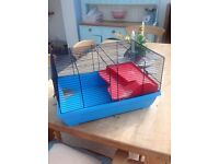 Hamster cage with loads of extras