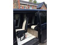 2015 Black VW Transporter - 6 seater