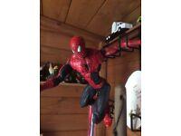 18in Spiderman figure