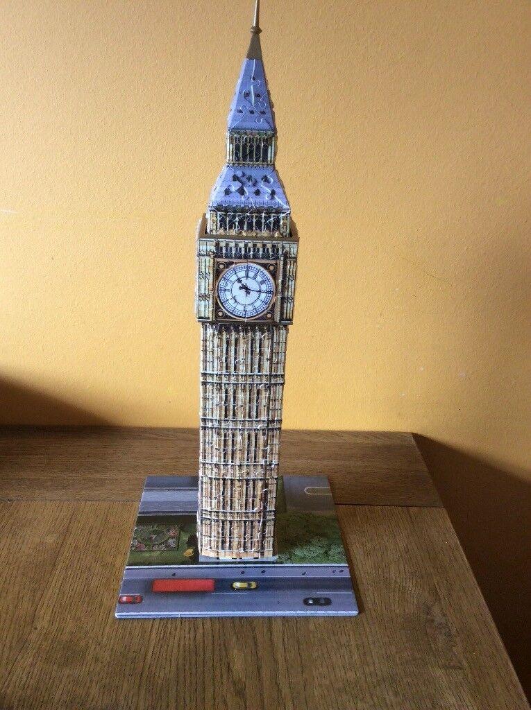 Ravensberger 3D Big Ben Jigsaw Puzzle