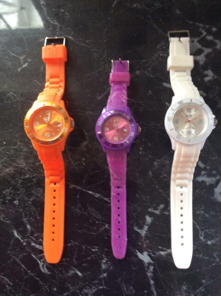ICE watches x 3