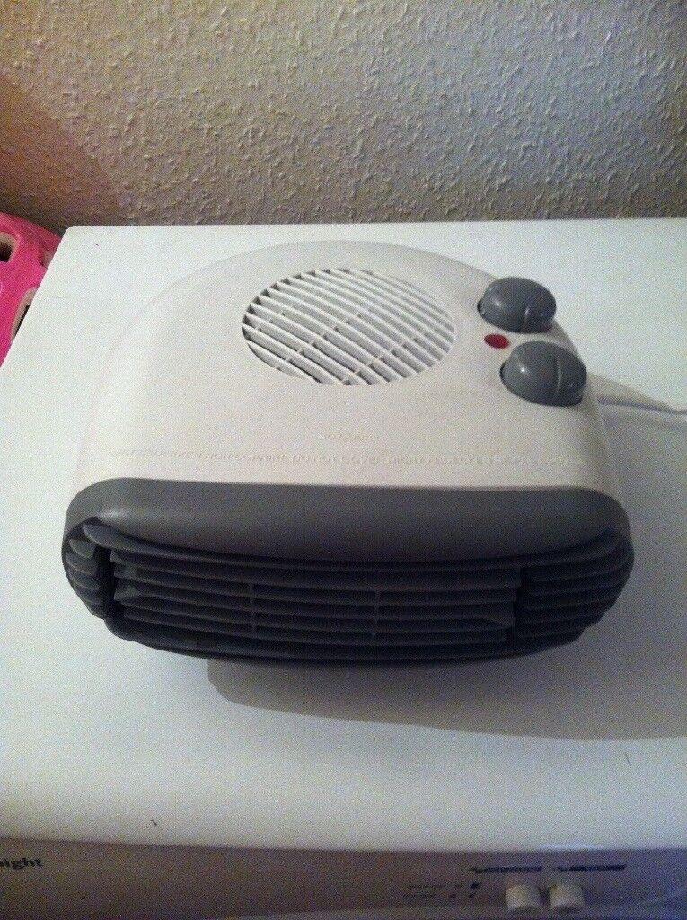 2 fan heaters