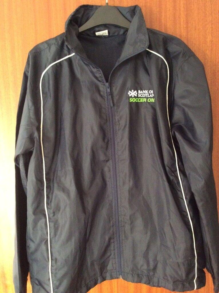 BRAND NEW Scottish FA Youth Football Soccer One Lightweight Waterproof  Jacket (Coat Training Top) 1dcd68985