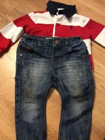 Baby boys clothes bundle 6-9 9-12 months
