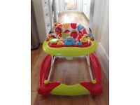 Red Kite Baby Walker & Rocker in-one - great condition