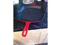 Cast iron griddle pan, excellent condition