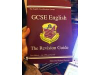 Excellent condition GCSE English the revision guide textbook