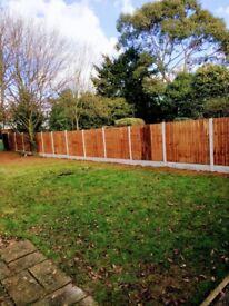 High quality fencing supplied and fitted