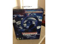 Top Drive steering wheel & pedals Logic 3 for use with Playstation