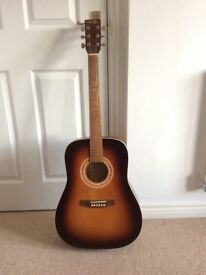 A 6 String Acoustic Guitar For Sale. VGC.