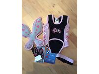 Baby Wetsuit with removable fairy wings 0 - 6 months