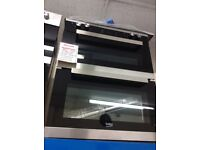 Built under electric double oven new graded 12 mth gtee
