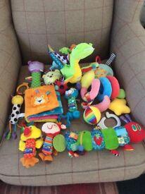Pram Toy Bundle