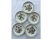 "Portmeirion Botanic Garden 8 1/2"" plates"