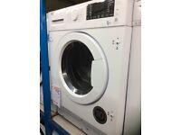 Beko integrated washer/dryer 12 mth gtee £369