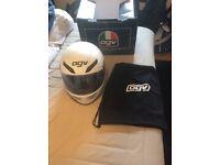 AGV S4 motorbike helmet matte white