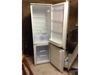 Zanussi Fridge Freezer, 1 years warranty, less than 1 year old.