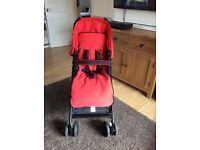 Fisher Price pushchair, parents and world facing