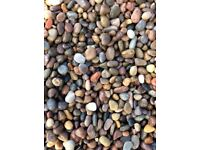 20 mm moray pebble garden and driveway chips/ stones