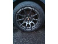 XxR alloys 15 with tyres