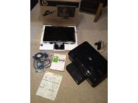 """HP 19"""" widescreen monitor with all in 1 HP photosmart printer"""