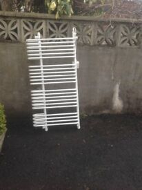 Dimplex BR 500 Electric Towel Rail complete with DX4124 dimplex regulator