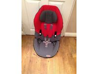 Excellent condition seat/booster stage 1 from 9-18kg, stage2 from15-25kg. Stage3 booster up to 36kg.