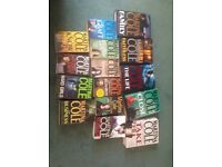 Martina Cole bestsellers hard and soft back £2 each